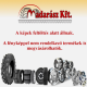 BKT 23X9-10(225/75-10) SUPER-ELASTIK-REIFEN gumiabroncs