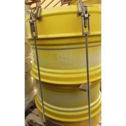 18x42 ikerfelni STOCKS System D305, 6 kapocs JD sárga